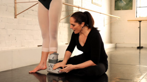 Barre with a Boot