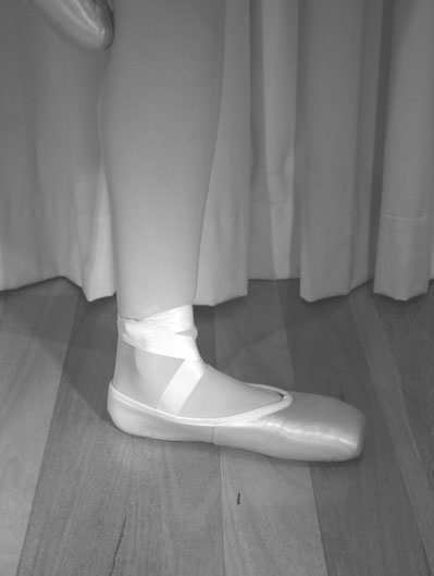 pointe work standing balances